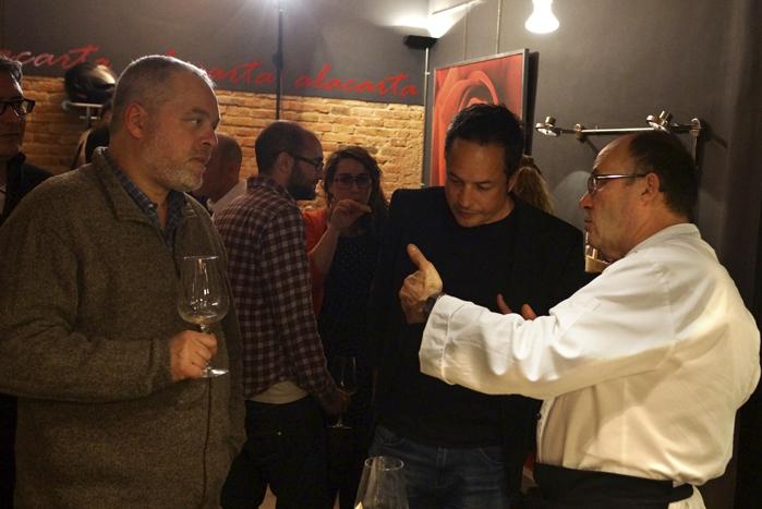 Acto gastronómico en Barcelona