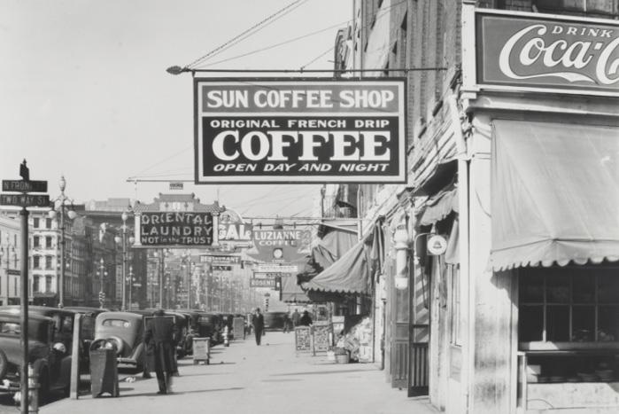 Walker Evans. New Orleans. 1935