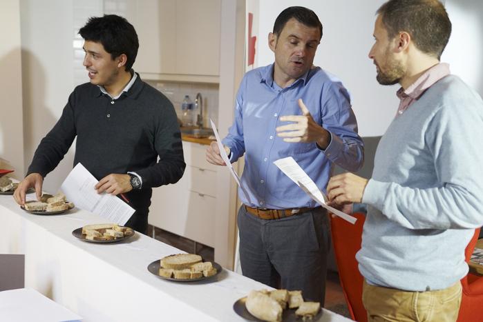 Cata pan en M4 Coworking Sarrià