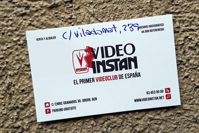 Videoinstan Barcelona